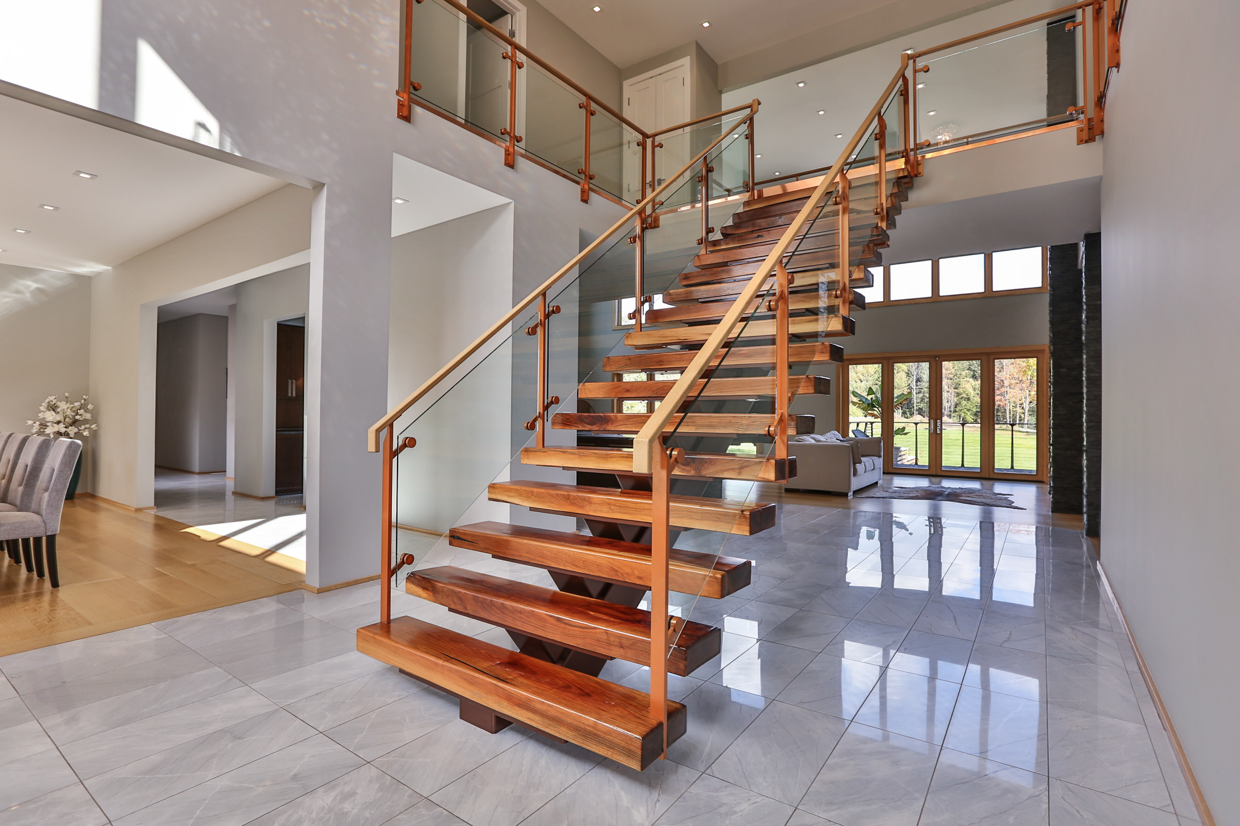 Custom Staircases Back