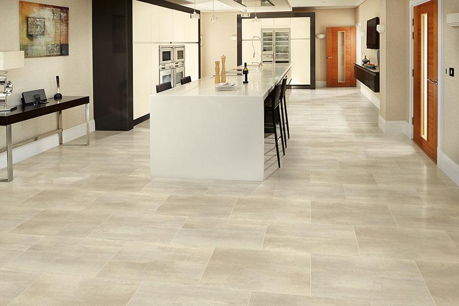 Vinyl Tile Stone Flooring Back
