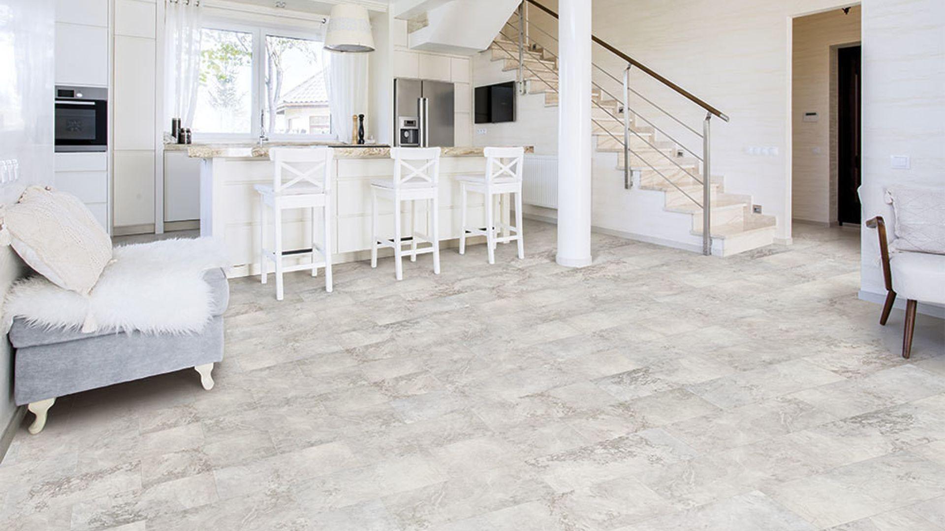vinyl tile stone flooring back - Tiles For Living Room Floor